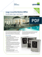 Type 2 SPD 51120 Series Product Bulletin Q-563