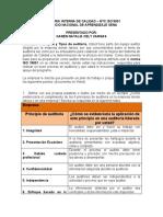 Informe Auditoria Interna