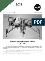 NASA Facts Lunar Landing Research Vehicle