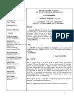 ARRÊT N°10 AISSATOU MBODJ   C   PREFET DE BAMBEYE ET MINISTRE GOUVERNANCE LOCALE