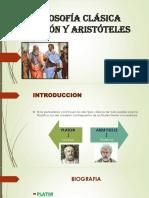 Filosofía Clásica Platón y Aristóteles Diapos