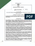 Iluminacion y alumbrado publico No.9 0980 RETILAP Colombia