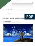 Workface Planning - um novo conceito - blogtek.com.br