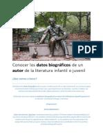 Conocer los datos biográficos de un autor de la literatura infantil o juvenil.pdf