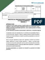 LABORATORIO DE METALES Y NO METALES