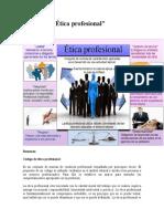 Infografía Etica Empresarial