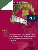 Pentaksiran Projek Penghasilan Karya 970(3)