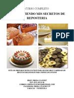 GUIA COMPARTIENDO MIS SECRETOS DE REPOSTERIA