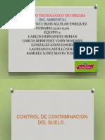 CONTROL DE CONTAMINACION DEL SUELO..pptx