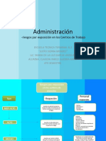 Administración Mapa conceptual de Riesgos por Covid 19