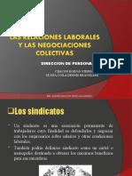 Las relaciones laborales y las negociaciones colectivas (1)
