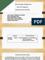 Analisis de articulo científico equipo 3