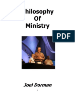 Joel's Philosophy of Ministry