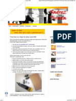 Xadrez Pirata_ Como fazer um relógio de xadrez caseiro #02