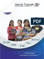X ICSE Physics
