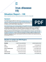 WHO COVID-19 situation report for May 25, 2020