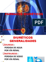 FARMACOLOGÍA DE FÁRMACOS DIURÉTICOS