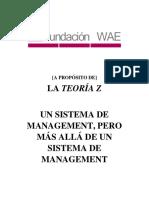 TD 8 LA TEORIA Z SEGUN LA FUNDACION WAE (España) pdf