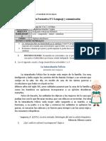 Evaluación Formativa N°2 Lenguaje Séptimo Básico
