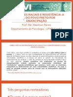 Iniquidades raciais e resistência numa perspectiva da AC