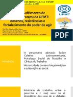 Saúde mental e trabalho - UFMT
