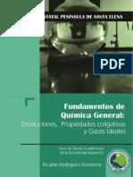 Fundamentos de Quimica General_Disoluciones, propiedades coligativas y gases ideales
