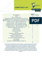 cp120 competency list