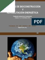 Jornadas de bioconatruccion y rehabilitación energeticas