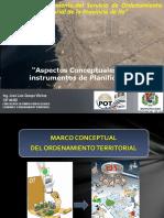 Tema 1. Capacitacion de Zee y Ordenamiento Territorial