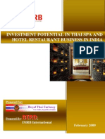 Report Spa Hotel Industry