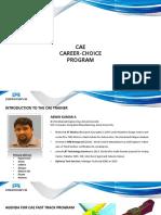 CAE Career-Choice Program