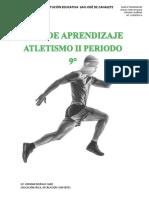 GUÍA DE APRENDIZAJE 2 PERIODO ATLETISMO 9