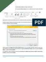 Computación II- Access Importar Datos