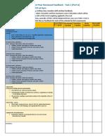 Assessment 1A Marking guide 2019