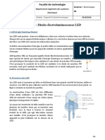 Cours 04 Diodes électroluminescences LED