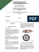 informe generador de corriente alterna