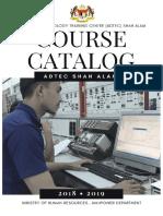 CourseCatalogueADTECShahAlam