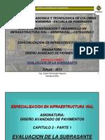 CAPITULO 2  SUBRASANTE - PARTE 1 - 2013