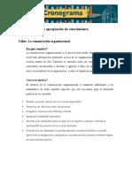 Taller La comunicacion  organizacional  evidencia 4