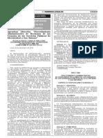 OSINRGMIN RCD 269-2014-OS-CD Norma de Reclamos