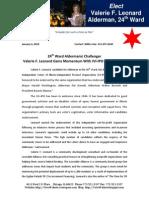 Press Release IVI IPO Endorsement