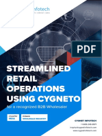 Streamlined Retail Operations Using Cygneto for a Recognized b2b Wholesaler