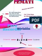 8vos, clase 1 Refuerzo division y decimales.pdf