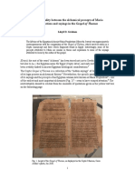 Intertextuality between the alchemical precepts of Maria Prophetissa and sayings in the Gospel of Thomas