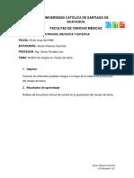 ANÁLISIS DE RIESGO Y PUNTOS CRÍTICOS DE CONTROL EN MANJAR DE LECHE