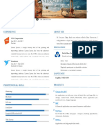 Free Resume by Pocolo