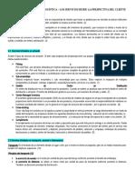 UNIDAD II Guía Calidad en la Logística