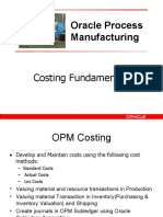 OPM Costing Fundamentals_Actual