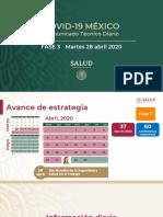 CP Salud CTD coronavirus COVID-19, 28abr20