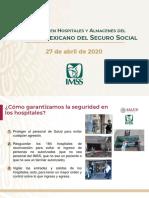 CP Salud IMSS Seguridad para el personal, 27abr20